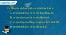 Câu 1 trang 63 SBT địa 10