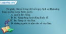 Câu 5 trang 64 SBT địa 10