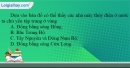 Câu 3 trang 11 SBT địa 10