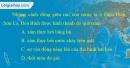 Câu 3 trang 28 SBT địa 10