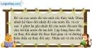Bài 24-25.5 trang 73 SBT Vật lí 6