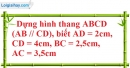 Bài 52 trang 86 SBT toán 8 tập 1