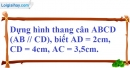 Bài 53 trang 86 SBT toán 8 tập 1
