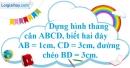 Bài 57 trang 86 SBT toán 8 tập 1