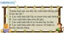 Bài 6.1 trang 20 SBT Vật lí 8