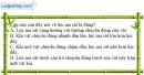 Bài 6.3 trang 20 SBT Vật lí 8
