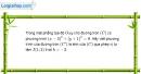 Bài 1.24 trang 33 SBT hình học 11