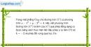 Bài 1.28 trang 36 SBT hình học 11