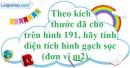 Bài 49 trang 164 SBT toán 8 tập 1