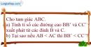 Bài 52 trang 166 SBT toán 8 tập 1