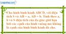 Bài 6.2 phần bài tập bổ sung trang 165 SBT toán 8 tập 1
