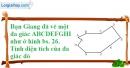 Bài 6.3 phần bài tập bổ sung trang 165 SBT toán 8 tập 1