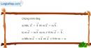 Bài 1.21 trang 31 SBT hình học 10
