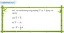 Bài 1.25 trang 31 SBT hình học 10