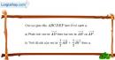 Bài 1.26 trang 31 SBT hình học 10