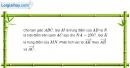 Bài 1.28 trang 32 SBT hình học 10