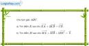 Bài 1.34 trang 32 SBT hình học 10