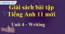 Writing - Unit 4 SBT Tiếng anh 11 mới