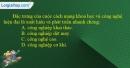 Câu 10 trang 9 SBT địa 11