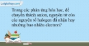 Bài 21.5 trang 51 SBT Hóa học 10