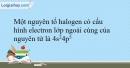 Bài 21.7 trang 51 SBT Hóa học 10