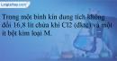 Bài 22.19 trang 52 SBT Hóa học 12