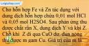 Bài 22.6; 22.7; 22.8; 22.9; 22.10 trang 50 SBT Hóa học 12