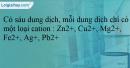 Bài 22.14 trang 51 SBT Hóa học 12