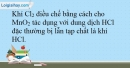 Bài 22.9 trang 53 SBT Hóa học 10