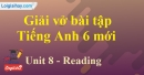 Reading - Trang 16 Unit 8 VBT tiếng anh 6 mới