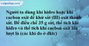 Bài 31.10 trang 44 SBT hóa học 8