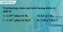 Bài 31.3 trang 43 SBT hóa học 8