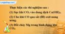 Bài 32.2 Trang 45 SBT hóa học 8