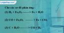 Bài 32.3 Trang 45 SBT hóa học 8