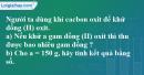 Bài 32.9 Trang 46 SBT hóa học 8