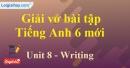 Writing - Trang 17 Unit 8 VBT tiếng anh 6 mới