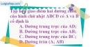 Bài 10.1 phần bài tập bổ sung trang 96 SBT toán 8 tập 1