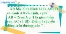 Bài 10.3 phần bài tập bổ sung trang 96 SBT toán 8 tập 1