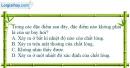 Bài 26-27.1 trang 76 SBT Vật Lí 6