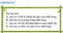 Bài 26-27.11 trang 78 SBT Vật Lí 6