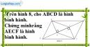 Bài 76 trang 89 SBT toán 8 tập 1