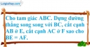 Bài 7.1 phần bài tập bổ sung trang 91 SBT toán 8 tập 1