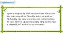 Bài 9.11 trang 31 SBT Vật lí 8