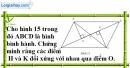 Bài 97 trang 92 SBT toán 8 tập 1