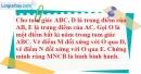 Bài 98 trang 92 SBT toán 8 tập 1