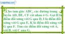 Bài 99 trang 92 SBT toán 8 tập 1