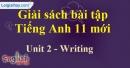 Writing - trang 17 Unit 2 SBT Tiếng anh 11 mới