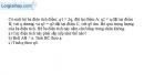 Bài I.11 trang 17 SBT Vật Lí 11