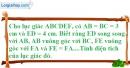 Bài II.2 phần bài tập bổ sung trang 166 SBT toán 8 tập 1