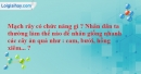 Bài 6 trang 30 SBT Sinh học 6